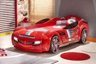 фото гоночной кровати-машины