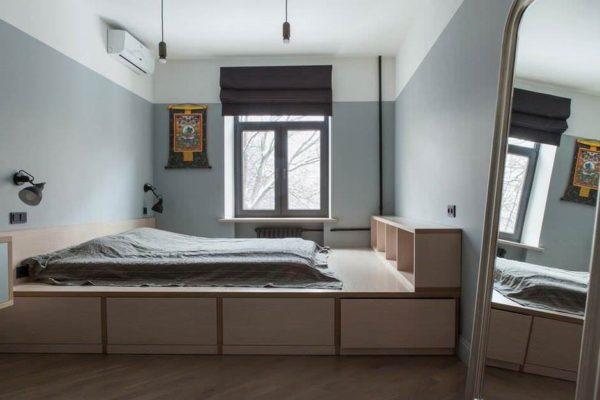кровать-подиум для подростка