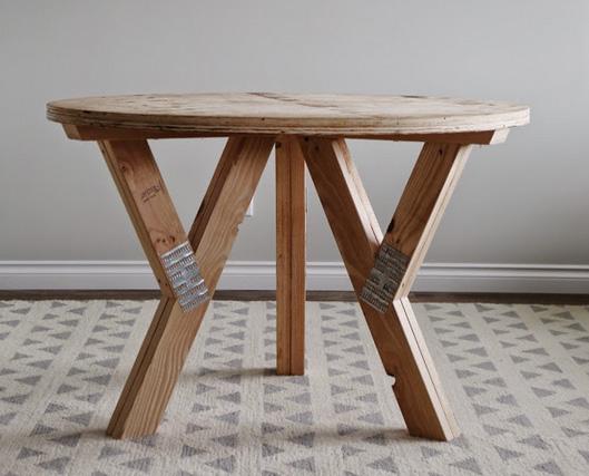 готовый стол своими руками