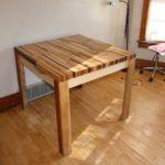 простой квадратный стол своими руками