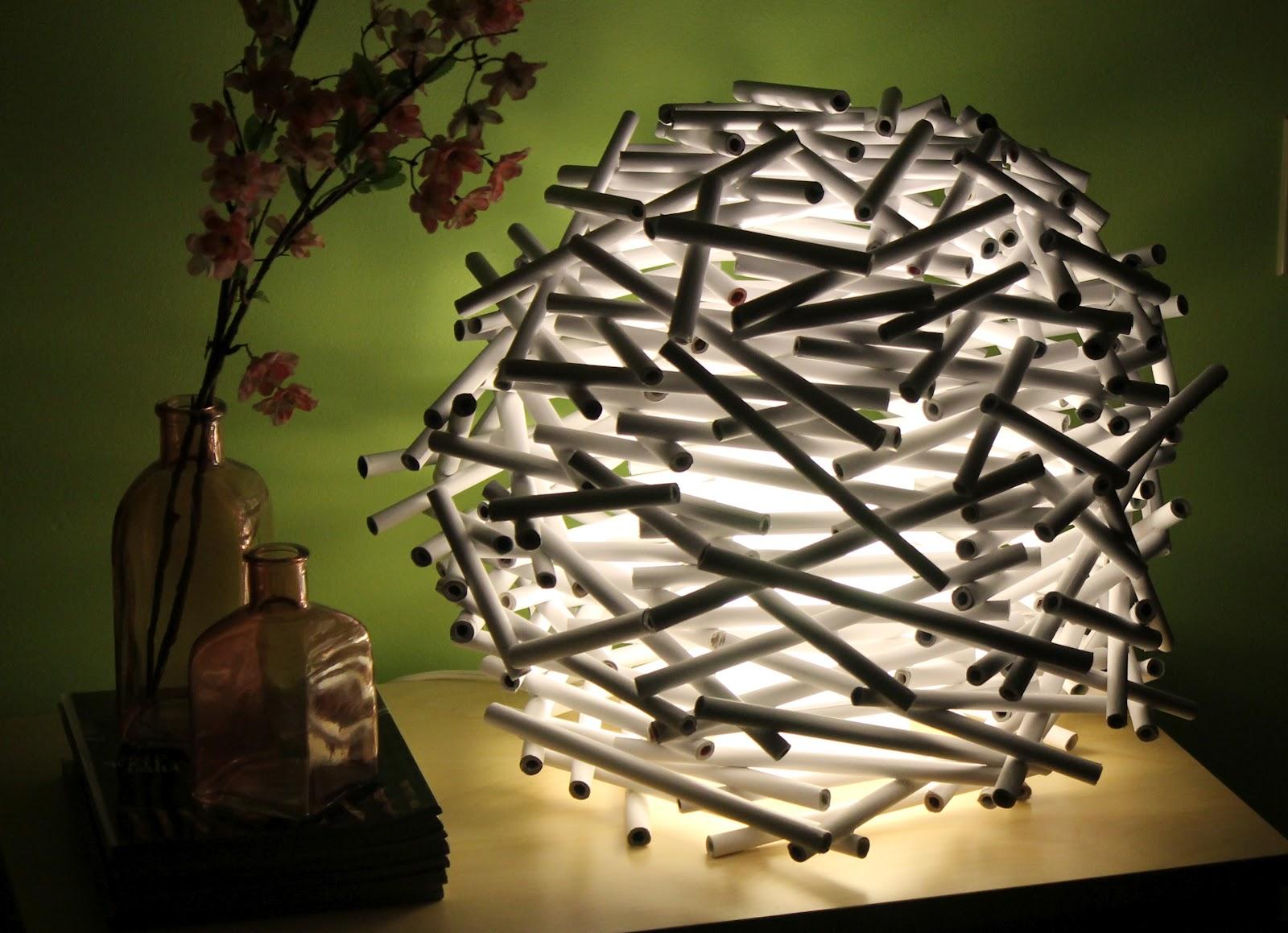 Идеи для дома своими руками светильник