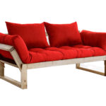 красный диван кровать