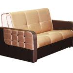 бежевый диван кровать с матрасом