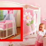 кроватка для малышки