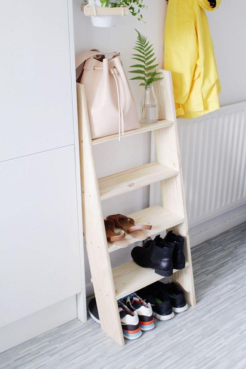 Как сделать полочку для обуви фото
