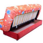 цветной диван-кровать аккордеон