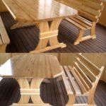 стол и скамейка своими руками