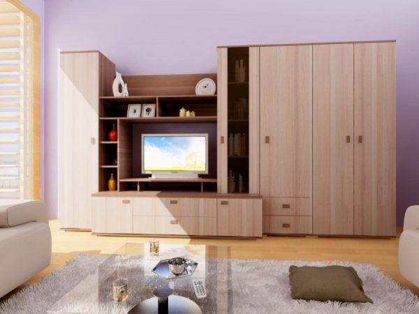 практичность стенок в гостиную