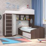 оригинальный чердак-кровать