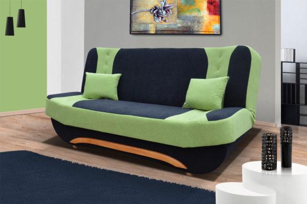 фото собранного дивана с ортопедическим матрасом