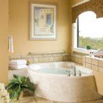 элегантная угловая ванна