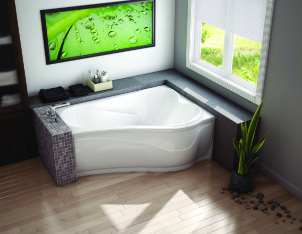 великая угловая ванна