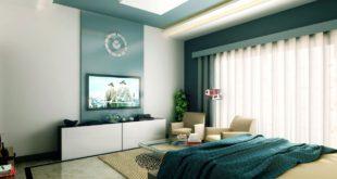 Установка телевизора в спальне