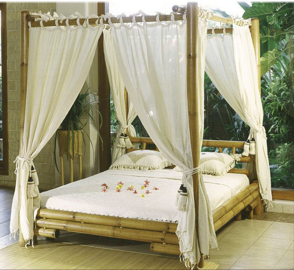 Canopy bed curtains for sale
