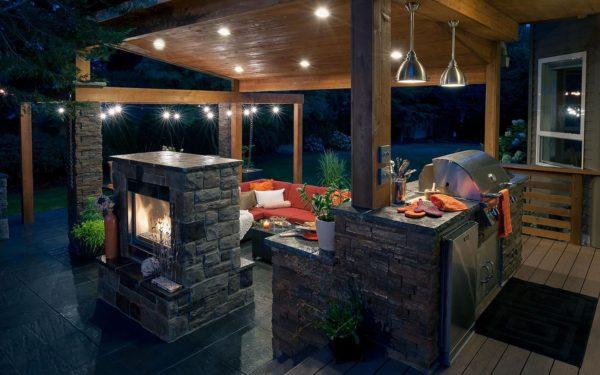 барбекю и шашлык на даче