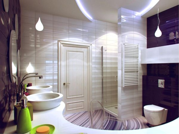 беспроигрышный дизайн ванной комнаты
