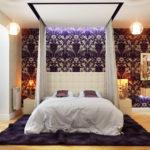 дизайн спальни с балдахилом