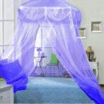 голубые тона спальни