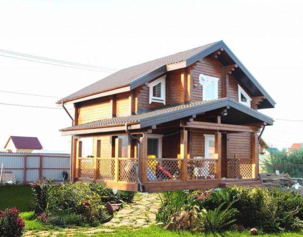 изысканый проект нового дома