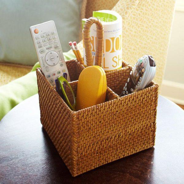 корзинка плетеная для мелочей