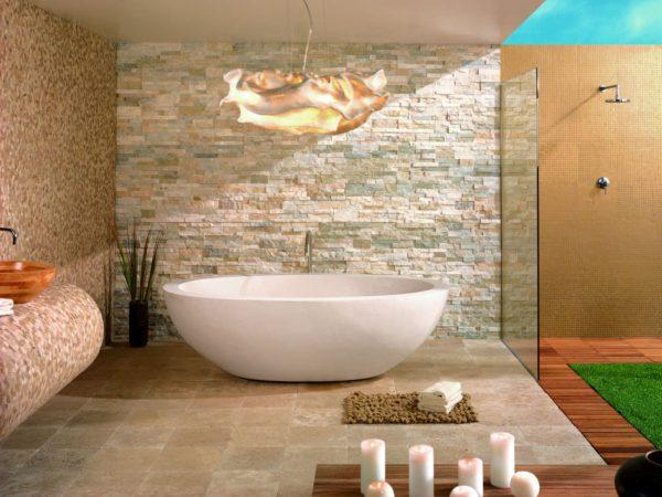 мелкая плитка для ванной