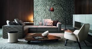 модульные диваны в гостиную в стиле Лофт