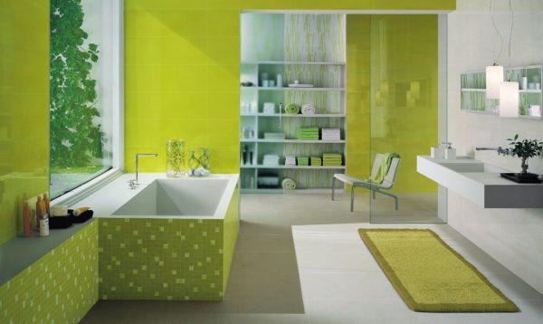 мягкий дизайн плитки для ванной