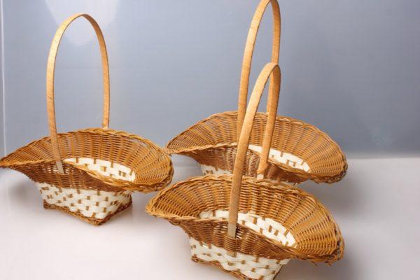 новые формы плетеных корзин