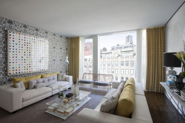 новый дизайн квартиры в нью-йорке