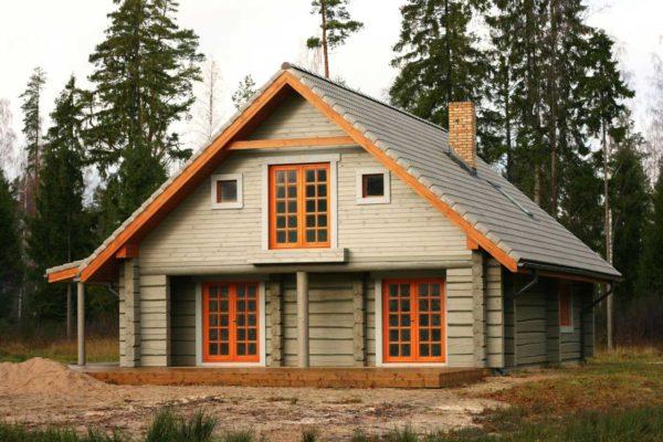 новый проект загородного дома