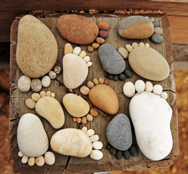 ножки из камня