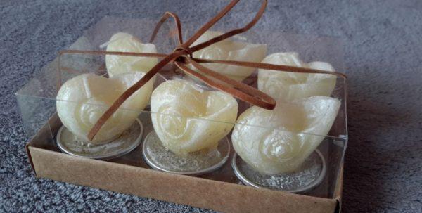 подарочные раковины свечи