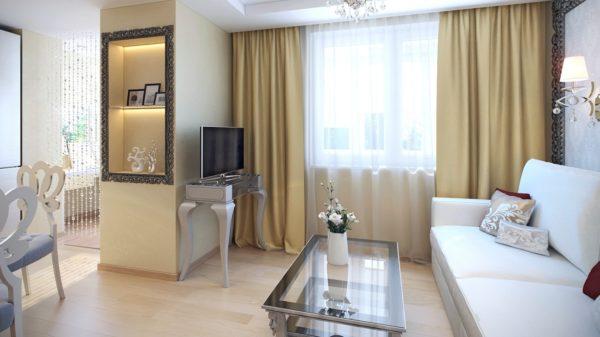 просторная комната в квартире