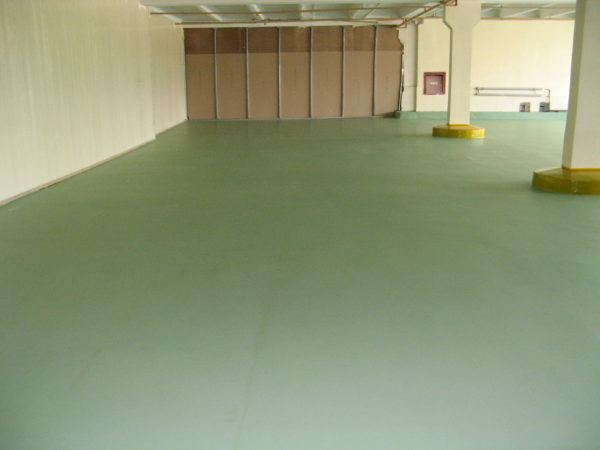 ремонт помещения наливным полом