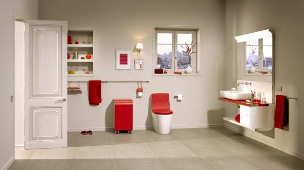 смелый дизайн ванны
