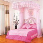 спальня для девочки с балдахилом