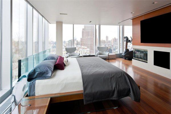спальня в квартире