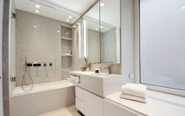 ванная комната в квартире нью-йорка
