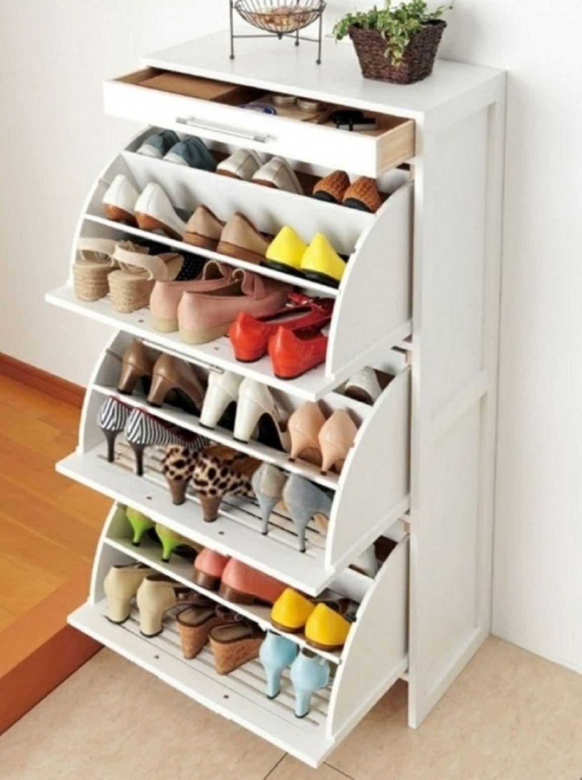 Металлические шкафы для обуви и сумок