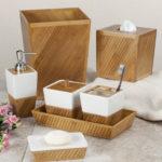 аксессуары из дерева для ванной