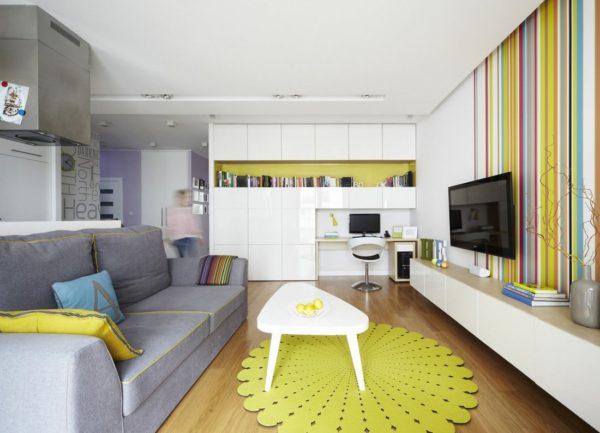 дизайн полок в квартире