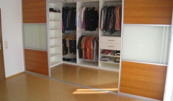 гардеробная шкаф-купе