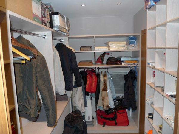 идеи гардеробных комнат
