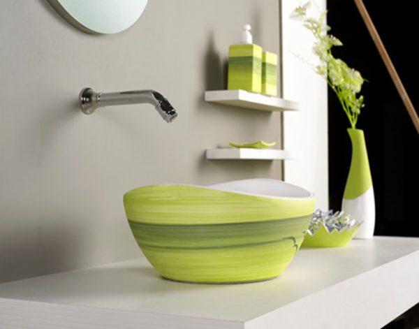 минимализм в ванной