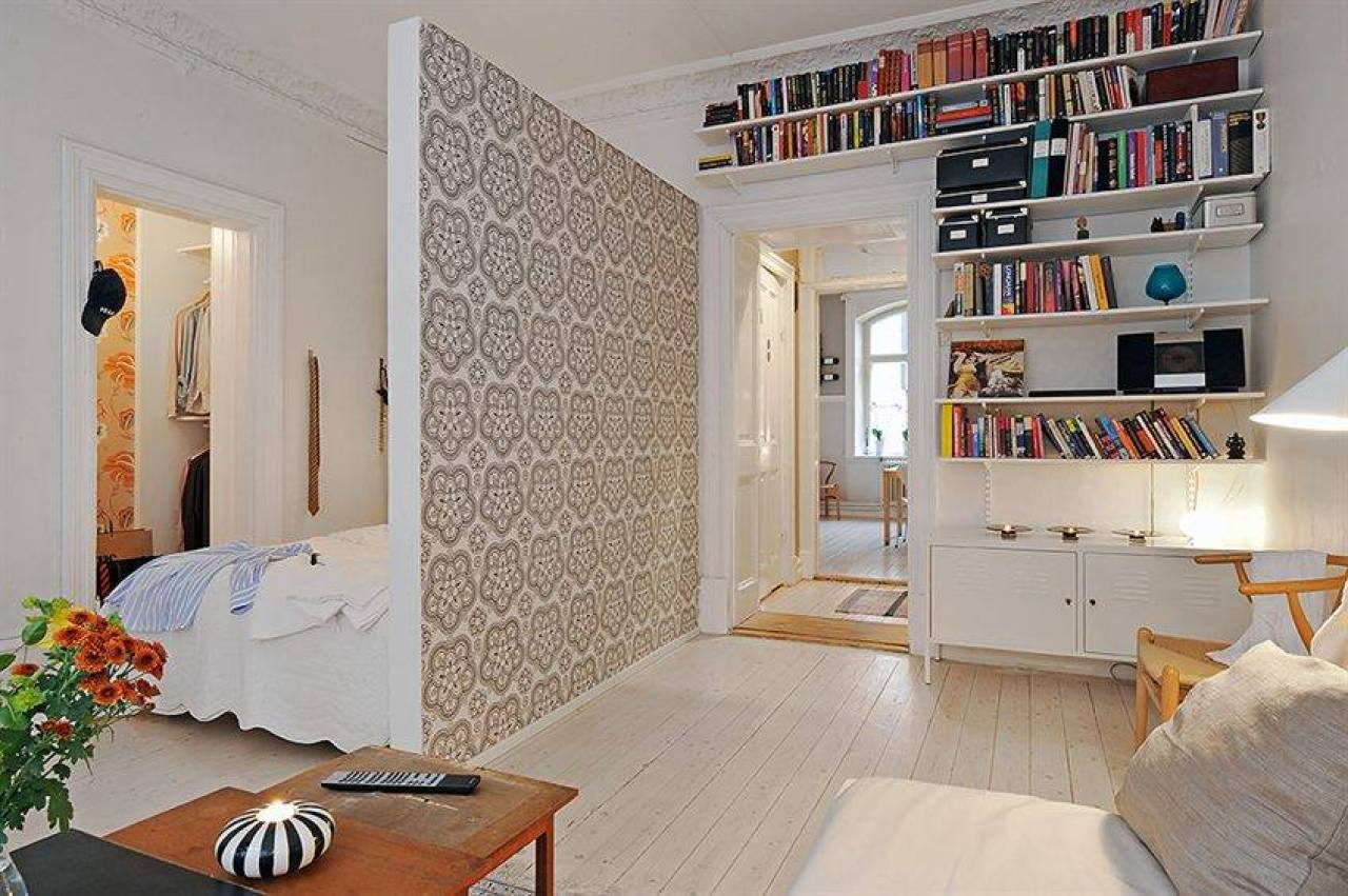 Идеи для маленьких квартир своими руками 38