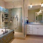 полный интерьер ванной комнаты