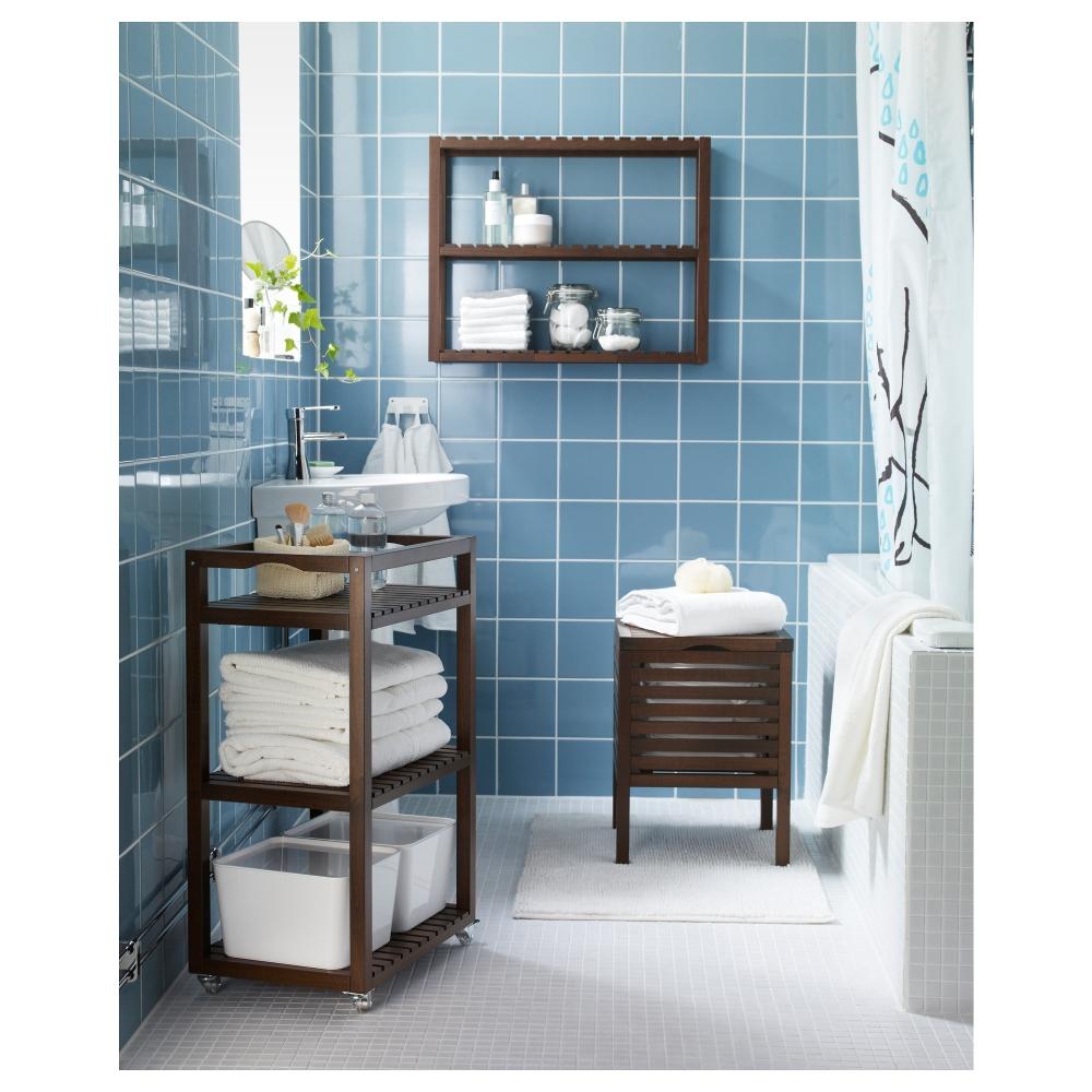 различные полки для ванной