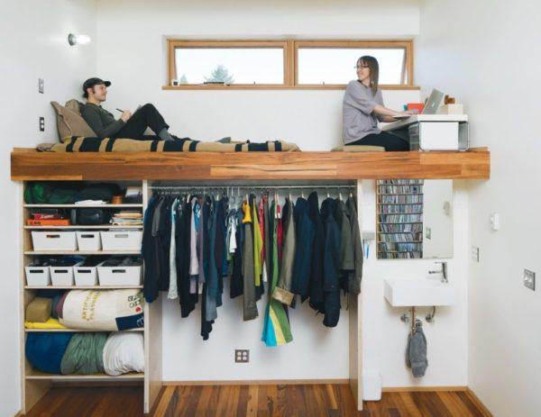 увелечение пространства в маленькой квартире