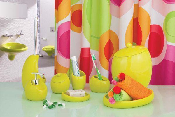 варианты аксессуаров для ванной