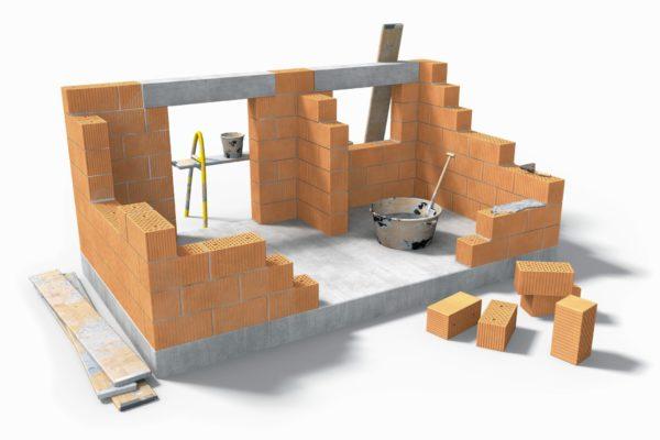 Как самому построить дом из кирпича